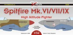 Spitfire Mk.VI/VII/IX High-Altitude Fighter