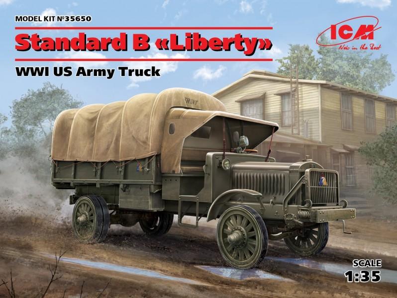 "Standard B""Liberty"",WWI US Army Truck"