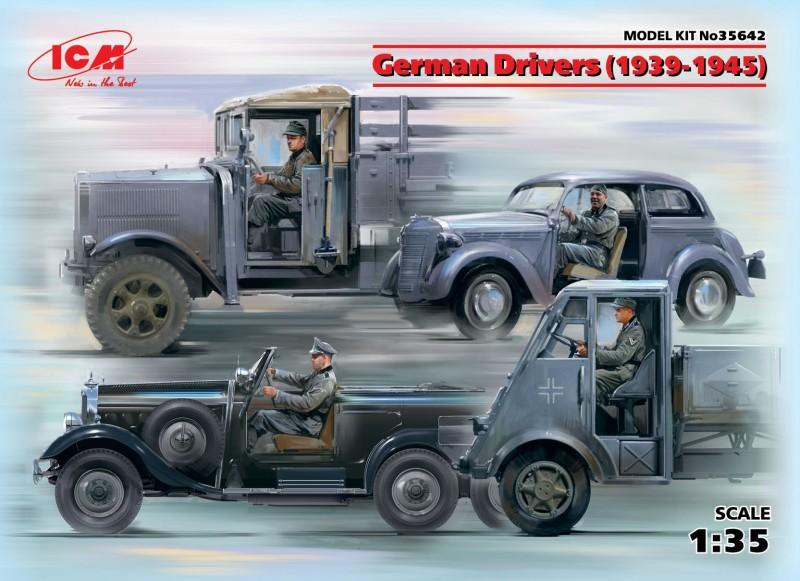 German Drivers(1939-1945)(4 Figures)