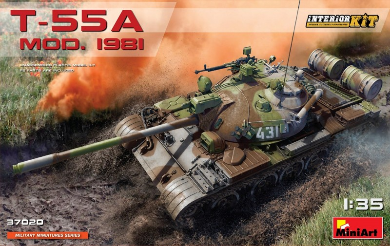 T-55A Mod.1981 Iterior Kit