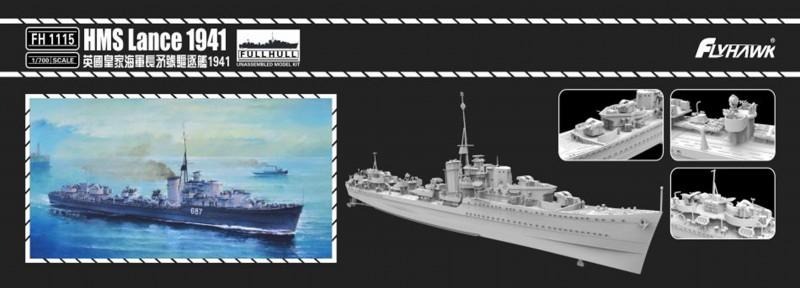HMS Lance 1941