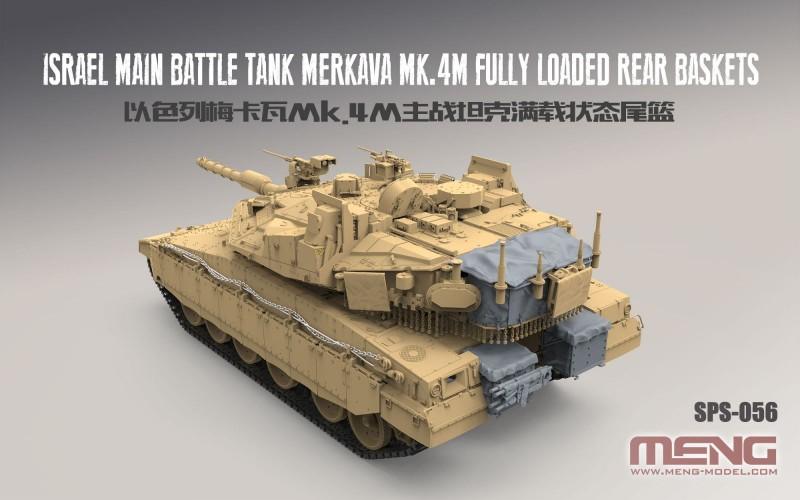 Israel Main Battle Tank Merkava Mk.4M