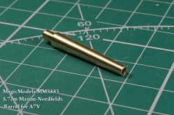 5,7cm Maxim-Nordfeldt. Barrel for A7V