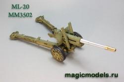 152 mm ML-20 barrel