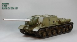 122 mm A-19S barrel. ISU-122