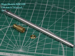 130 mm S-70 barrel. IS-7