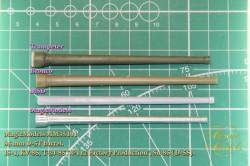 85 mm D-5T(S) barrel. IS-1, KV-85, T-34-85 (№112 Factory), Su-85