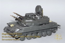 23mm Barrel 2A7. SPAAG ZSU-23-4