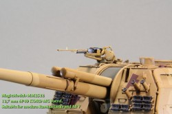 12,7 mm 6P49 KORD MG barrel. Suitable for modern Russian tanks and AFV