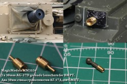 2 x 30mm AG-17D grenade launchers for BMPT