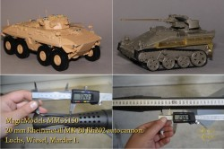 20 mm Rheinmetall MK 20 Rh202 autocannon. Luchs, Wiesel, Marder