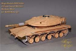 120 mm  barrel MG253. Merkava Mk.IV (HobbyBoss)