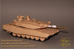 Rheinmetall Rh 120mm L/44. Leopard II Revolution I (Tiger Model)