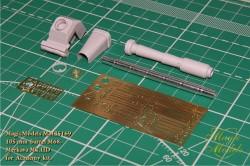 IMI 105 mm gun for Merkava Mk.2D (Academy)