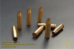 57 mm empty shell casings SPAAG ZSU-57-2. Set contains 8 shells
