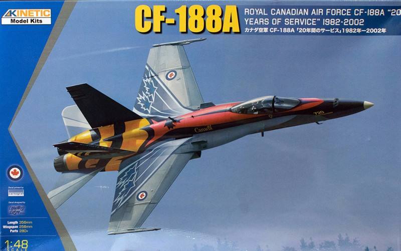 CF-188A RCAF 20 years services