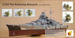 The Battle Ship Bismarck for Tamiya