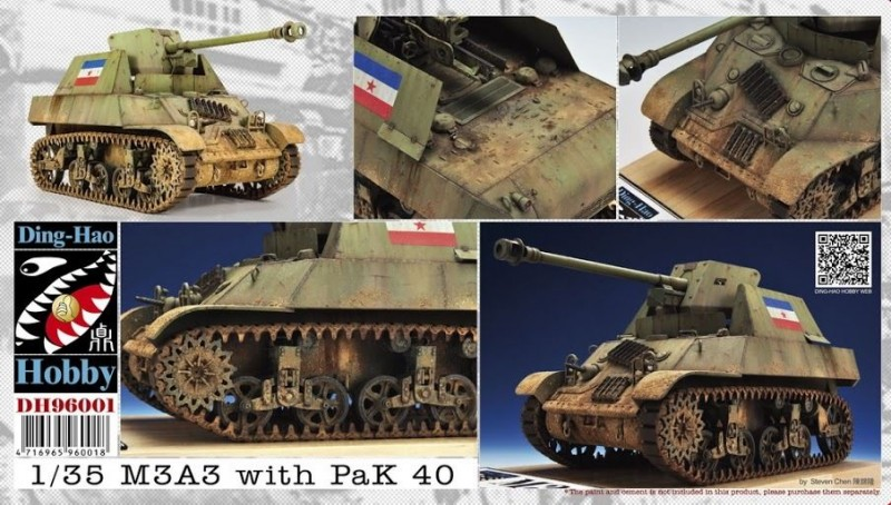 M3A3 with Pak 40 (Yugoslav)