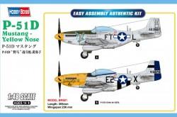 P-51D Mustang-Yellow Nose