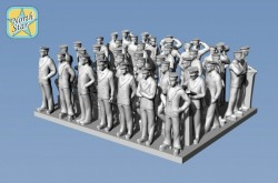 Royal NAVY 40 pcs figures WWII