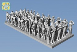 Royal NAVY figures WWII Set 1