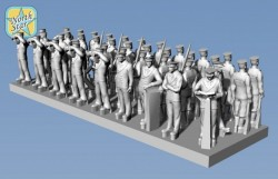 Royal NAVY static figures WWII