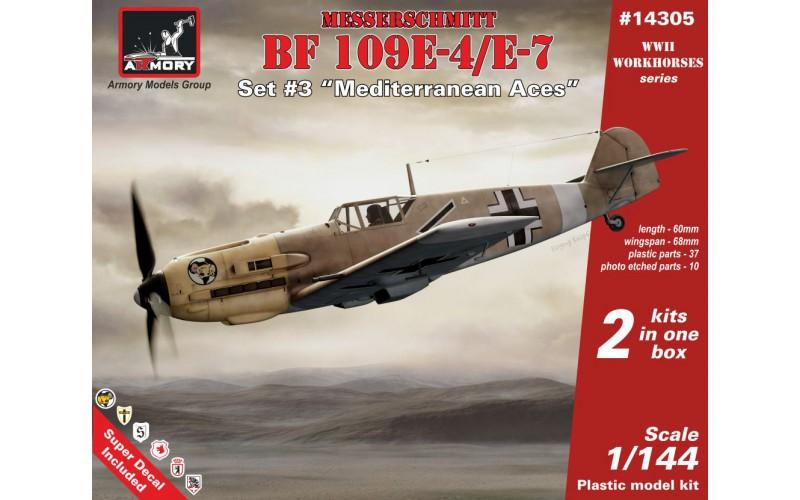 """Messerschmitt Bf 109E, Set #3 """"Mediterranean Aces"""""""