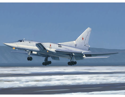 Tu-22M3 Backfire C Strategic bomber