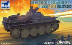 German Panzerkampfwagen II Flamm Ausf. E (Sd.Kfz. 122)