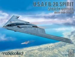 USAF B-2A Spirit Stealth Bomber with Mop GBU-57
