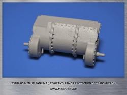 US medium tank M3 (Lee/Grant) armor protection of transmission