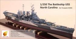 The Battleship USS Nort Carolina (for Trumpeter 05303)