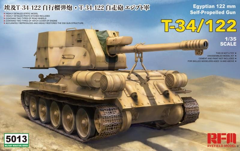 T-34/122 Egyptian