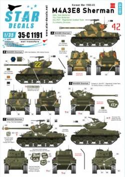 Korean War - USM4A3E8 Sherman # 3