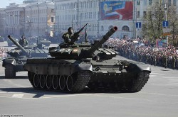 Russian T-72B3 MBT