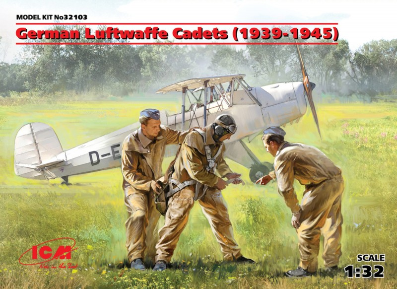 German Luftwaffe Cadets(1939-1945) (3 Figure)