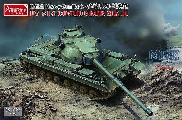 British Tank FV 214 Conqueror MK II