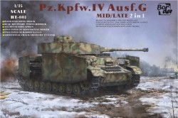 Panzer IV Ausf.G Mid/Late 2in1
