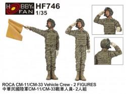 ROCA CM-11/CM-33 Vehicle Crew-2 Figures