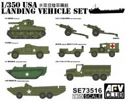 US WW2 Landing Vehicle Set
