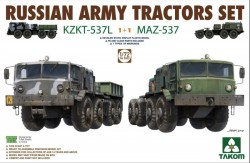 Russian Army Tractors KZKT-537L & MAZ-537 1+1