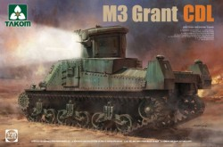 BRITISH MEDIUM TANK M3 GRANT CDL