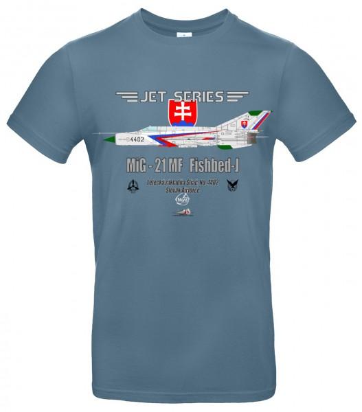 MiG-21MF Fishbed-J- M - Modro šedá