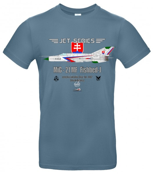MiG-21MF Fishbed-J - L - Modro šedá