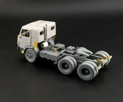 KamAZ 54112 full resin model kit