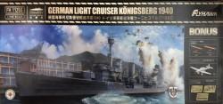 German Light Cruiser Königsberg 1940 - deluxe