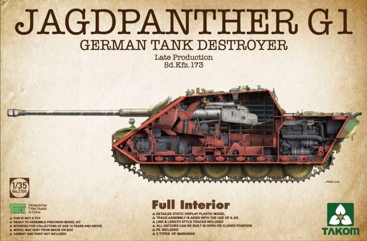 Jagdpanther G1 Late Production Sd.Kfz173