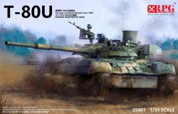 Russian Main Battle Tank T-80U