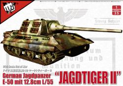 German WWII E50 Jagdtiger II