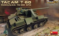Romanian 76-mm SPG Tacam T-60 InteriorKit